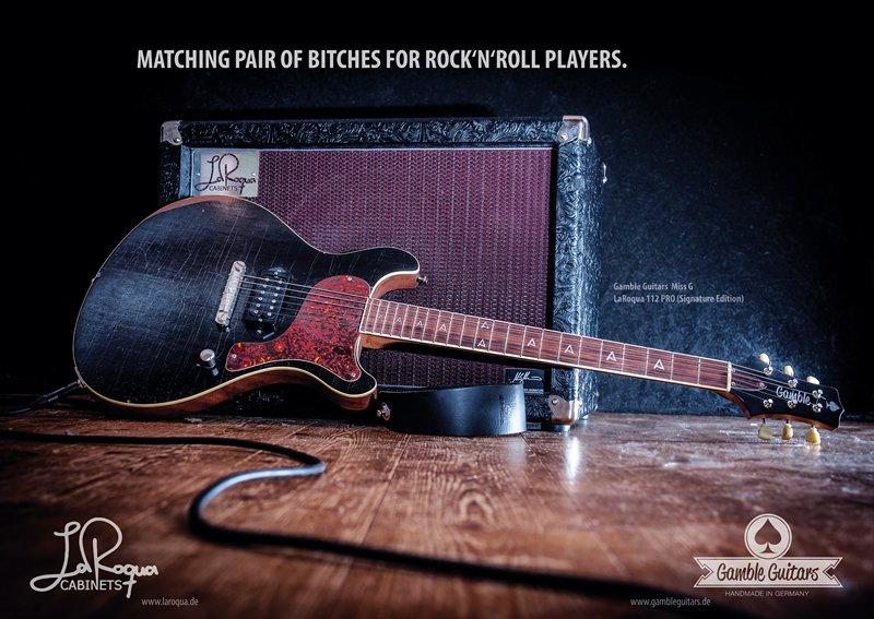 """LaRoqua Poster Motiv """"Rockbitches"""""""