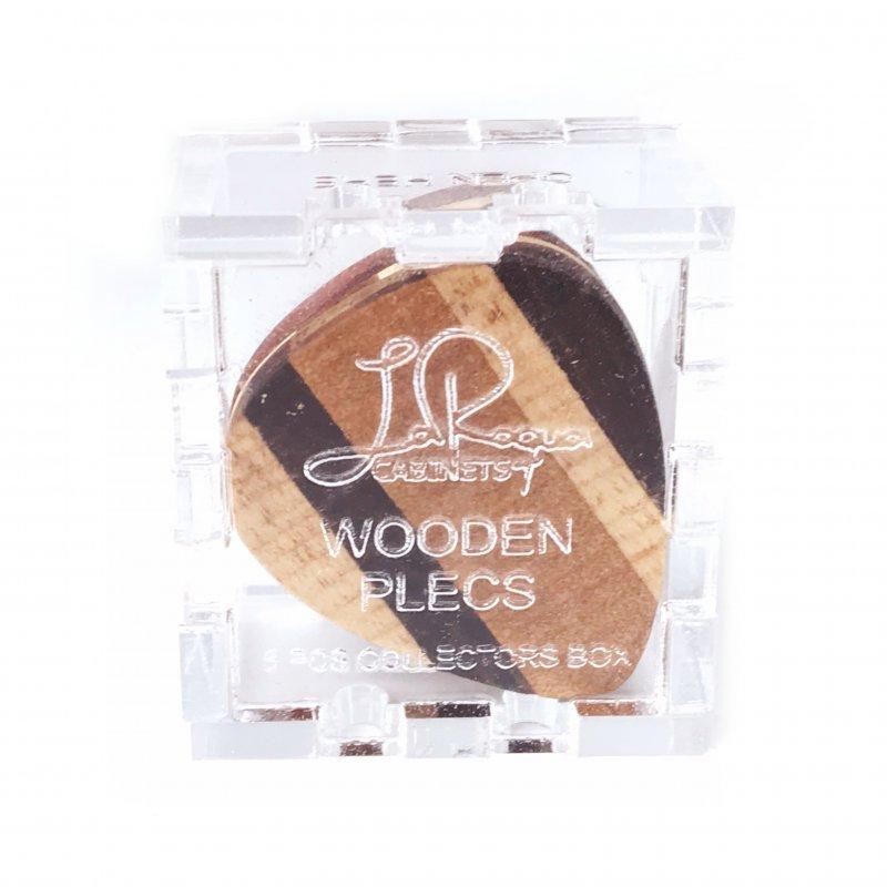 Wooden Plec (5 Pcs. Collectors Box)